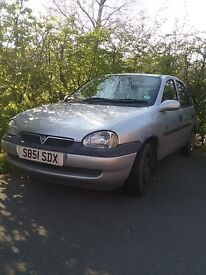 VAUXHALL CORSA FOR PARTS