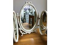 Vintage Triple Mirror