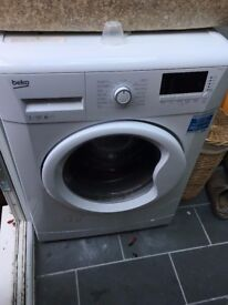 BEKO WM74165W Washing Machine - Less than 12 months old - White - Freestanding