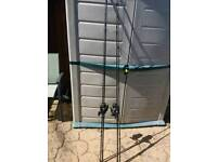 Fishing - 2 x Daiwa Rods and Reels