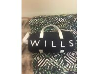 Jack Wills Gym Bag- Used Twice, Very Good Condition