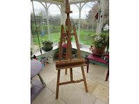 Artist's easel - high quality made by Mabef of Italy