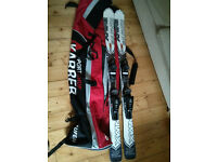 Ski pair Salomon 144 Xwing 6R