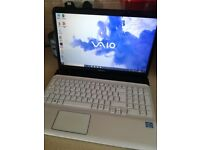 Sony Vaio Laptop Computer with Office Light Gaming Minecraft Etc