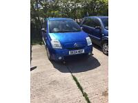 Citreon c2 1.1 petrol 04 plate