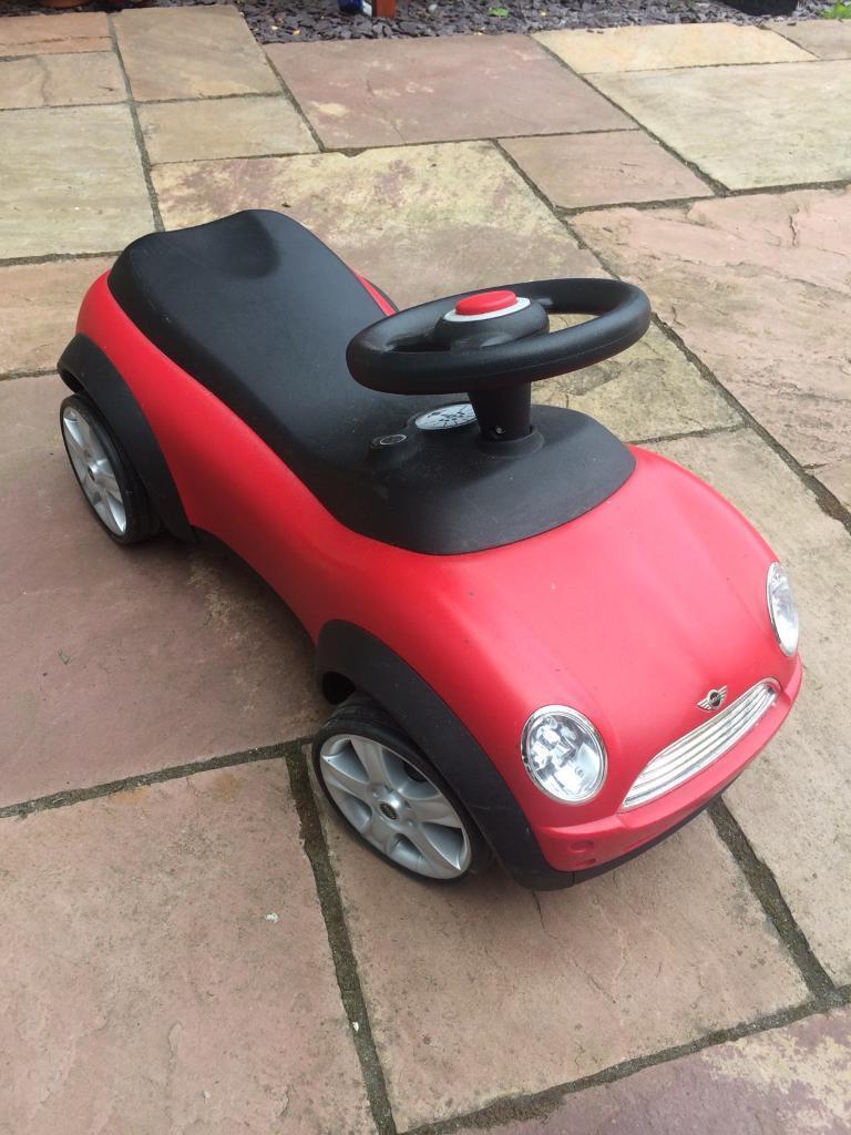 Toddler Mini Cooper Car