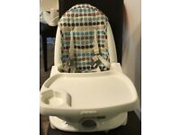 My first years deluxe reclining high chair