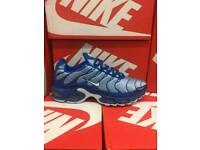 Mens Nike Tns blue size 8 or 9
