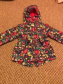 12-18 months girls raincoat