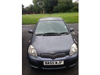 TOYOTA YARIS 2005,1.3,PETROL MANUAL, MOT, SERVICE HISTORY,EXCELLENT CONDITION