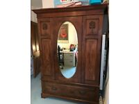 Antique solid wood Wardrobe