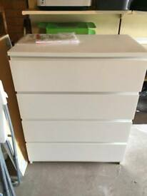 Ikea malm 4 chest of drawers
