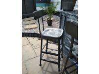 Industrial heavy duty bar stools