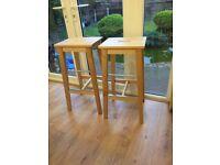 2 New Ikea Bar / kitchen stools - bargain