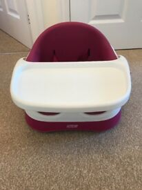 Mamas and Papas snug seat with detachable play tray