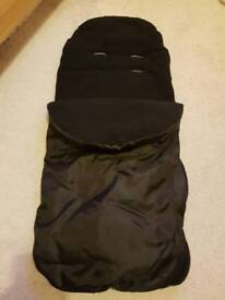 Universal Infant Car Seat Foot Muff / Cosy Toes £7