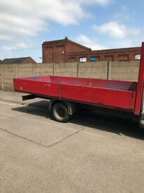 14ft alliminium dropside body