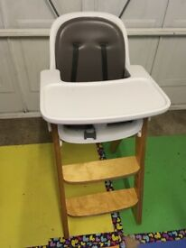 High Chair - converts into a dining chair