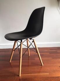 Eames DSW Replica Chair - Black