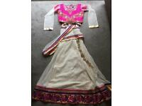 Girls Lengha saree (Indian/Bollywood)