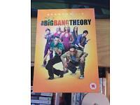 The Big Bang Theory season 1-5 DVD boxset