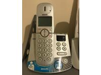 Philips Cordless Phones with Base Station