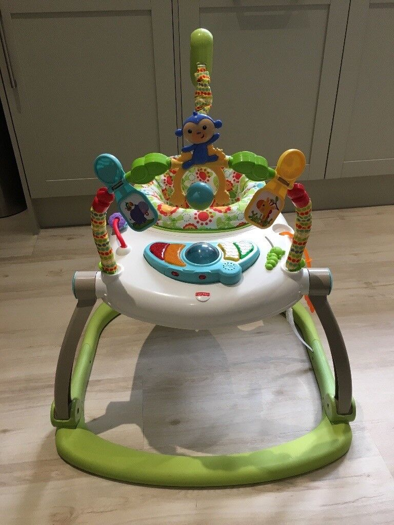 Fisher price rainforest space saver jumperoo
