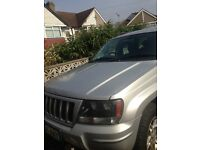 Jeep Grand Cherokee CRD sport, 2004, with spare 5x wheels