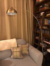 Archiology Venice Brass Arc Floor Lamp