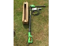 Telescopic Hedge Trimmer ,hardly used