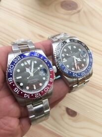 New stainless rolex submariner pepsi watch