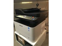 SAMSUNG EXPRESS PRINTER, SCANNER WITH DOC FEEDER AND FAX MACHINE