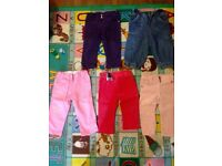 Girl's Trousers 80 cm/12months