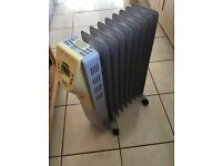 Electric heater good working order.