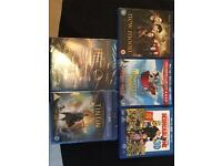 Blue ray and 3D dvds £5 each