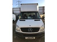 Mercedes sprinter Luton/box van with tail lift for sale