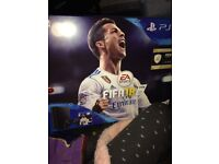 Brand new PS4 with Fifa 18 , Never been opened.
