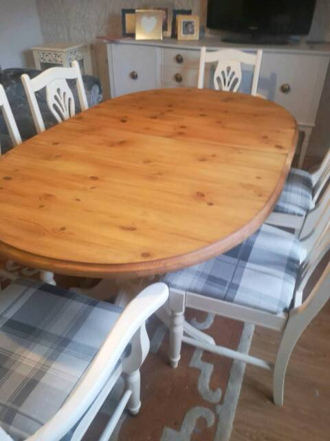 9b5ef0a1dd Extending farmhouse table amd 6 chairs | in Highbridge, Somerset ...
