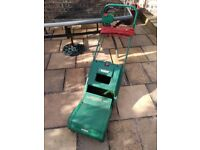 Qualcast XR30 electric lawnmower - used but working condition