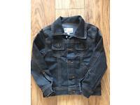 Original Versace young black denim jacket
