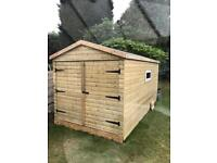 timber garage/workshop