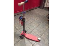 Great Condition Maxi Micro Red Kids Scooter