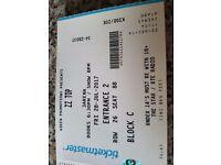 ZZ Top Tickets