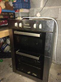 CDA integrated double oven.