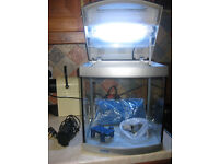 Cold water fish tank suitable for goldfish or guppies