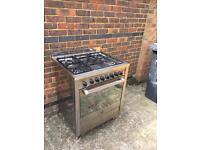 Cooker range duel fuel gas electric