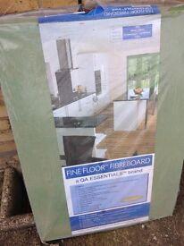 Fibreboard underlay wood flooring