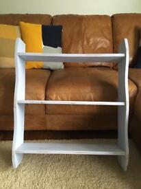 Handmade shelving unit