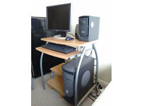 DELL PENTIUM 4 XP WITH MS OFFICE & CONTACT MANAGER and DESK.