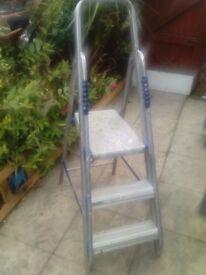 step ladder £ 7